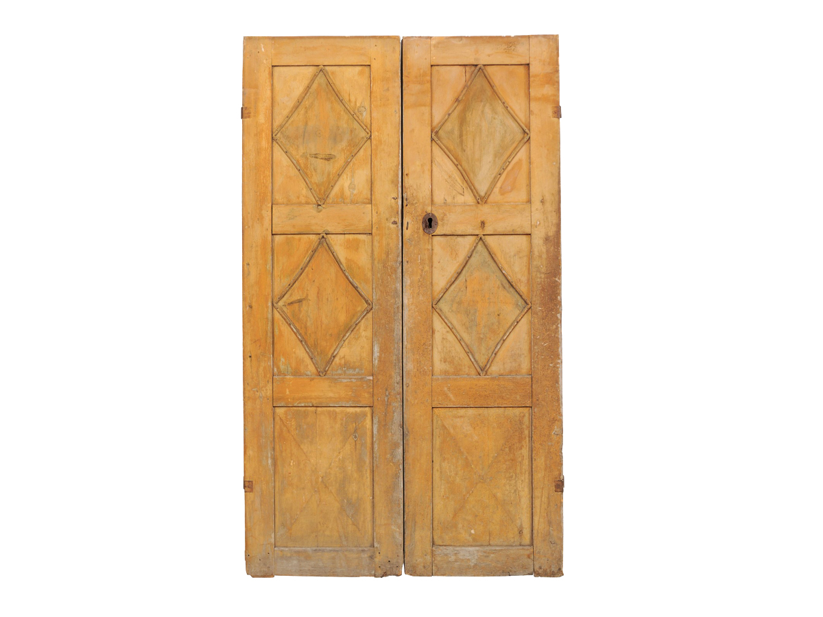 A Pair of Swedish 19th C. Doors