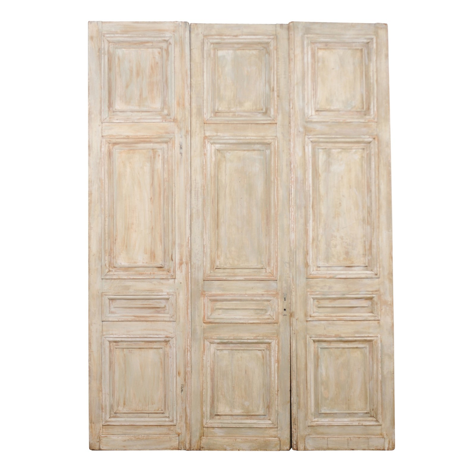 Set of 19th C. French Doors, 10+ ft