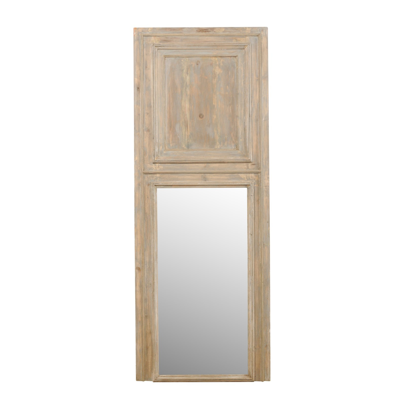 French 19th C. Trumeau Mirror, 8+ FT