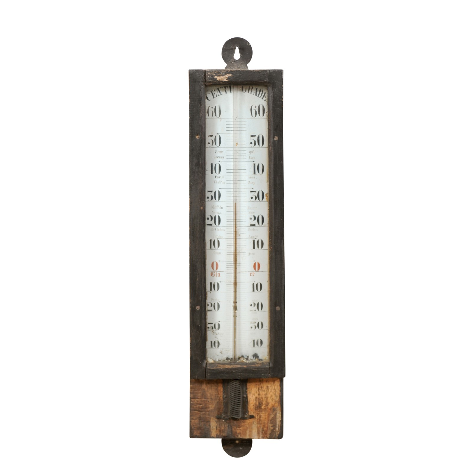 French 19th C. Wall Mounted Barometer