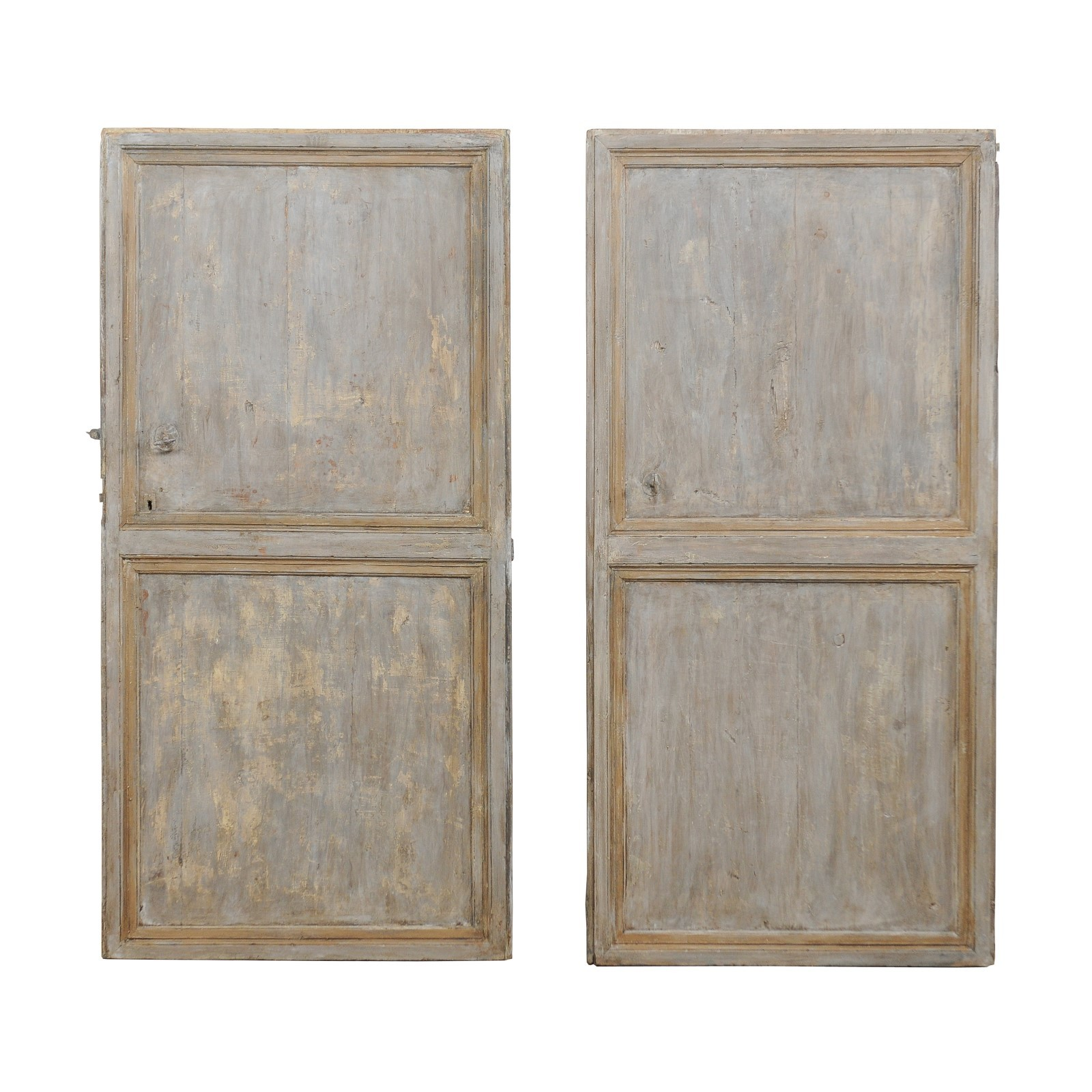 Spanish 19th C. Single Doors, A  Set of 2