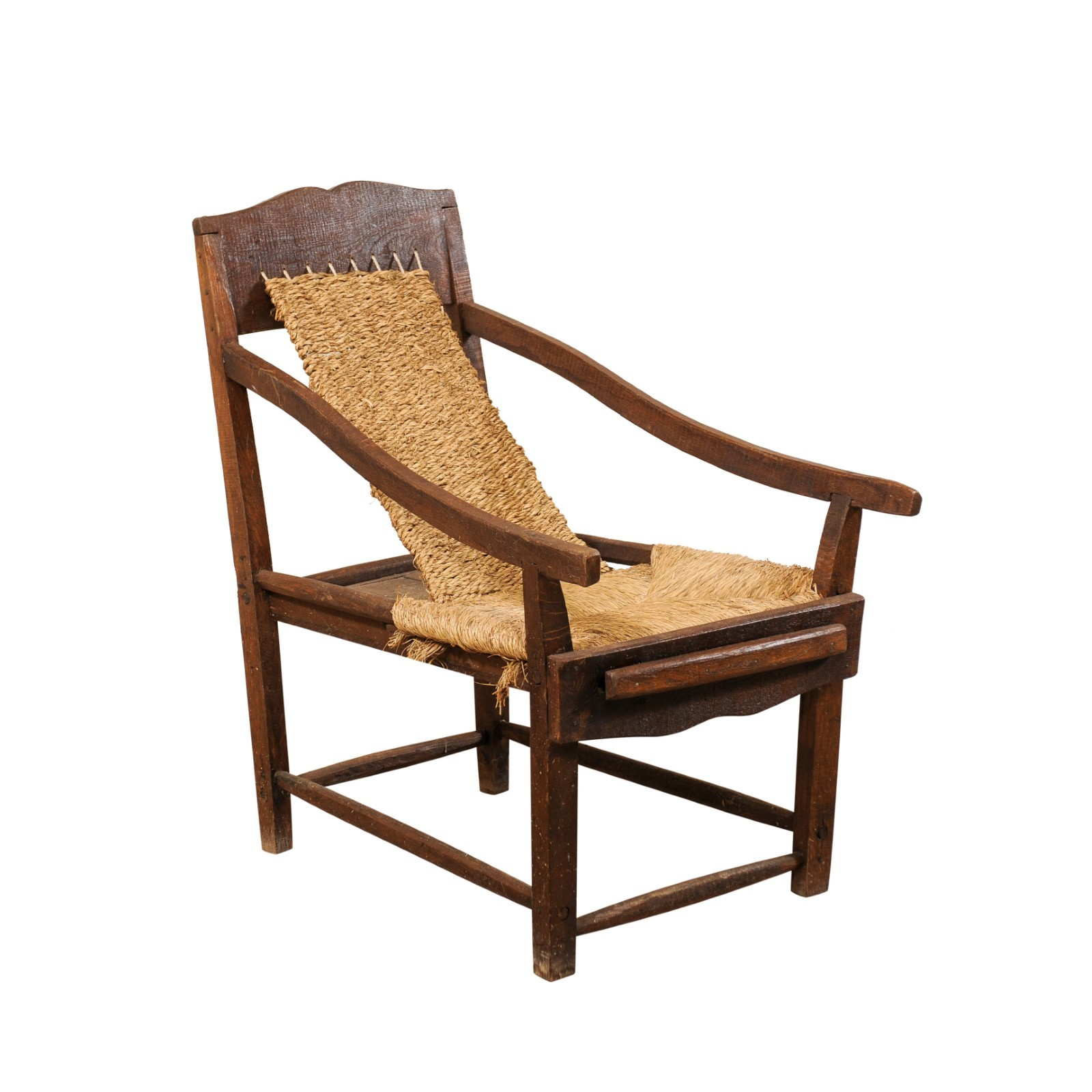 Italian Sling Lounge Chair, Early 20th C.
