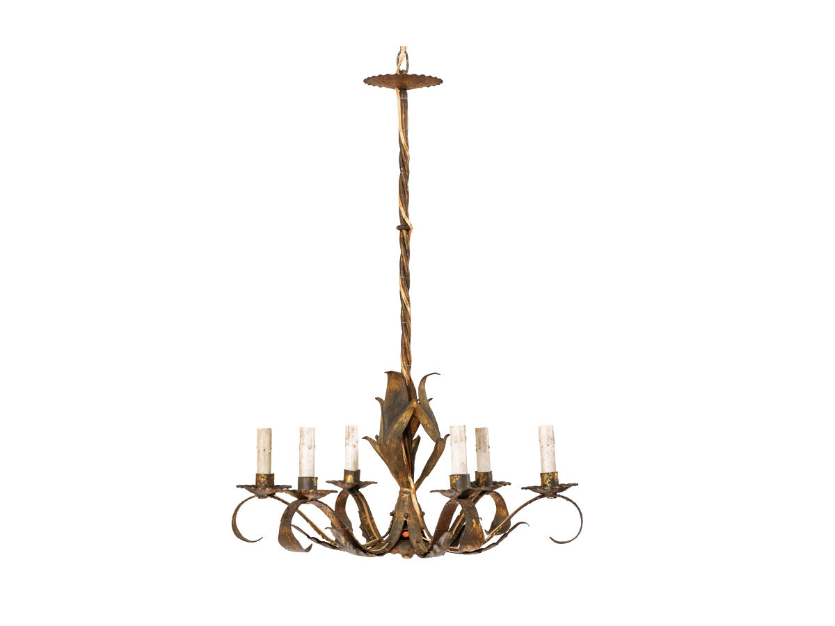 A Mid-Century French Chandelier