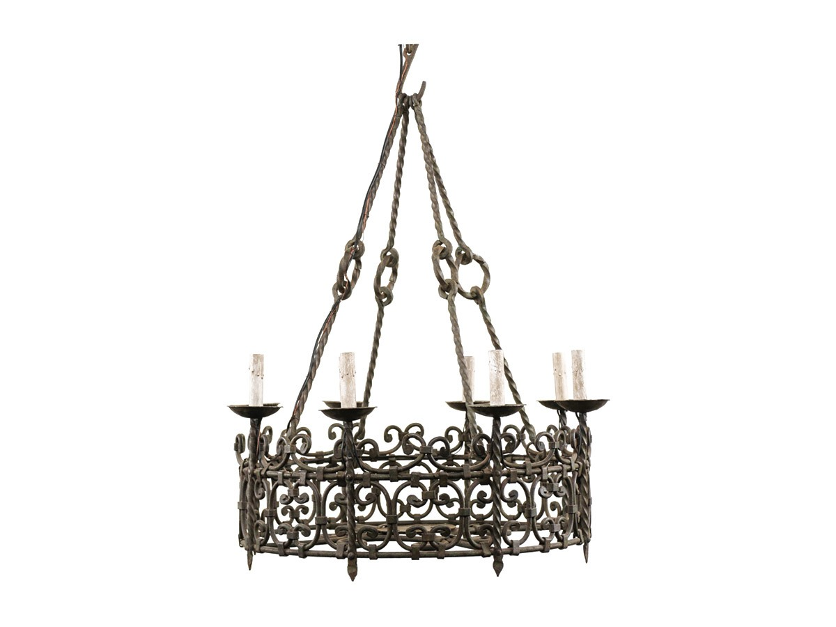 An Ornate French Ring Chandelier