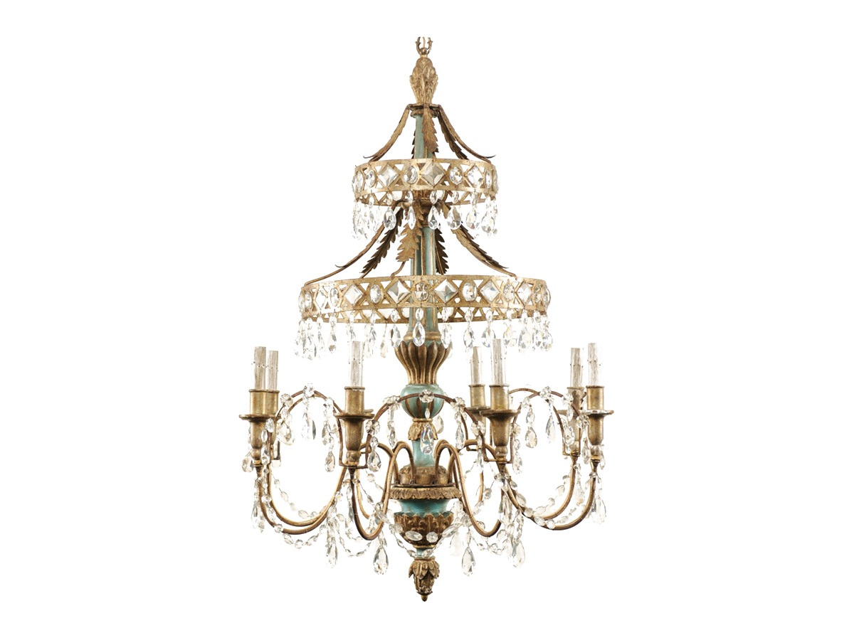 An Exquisite Italian Chandelier