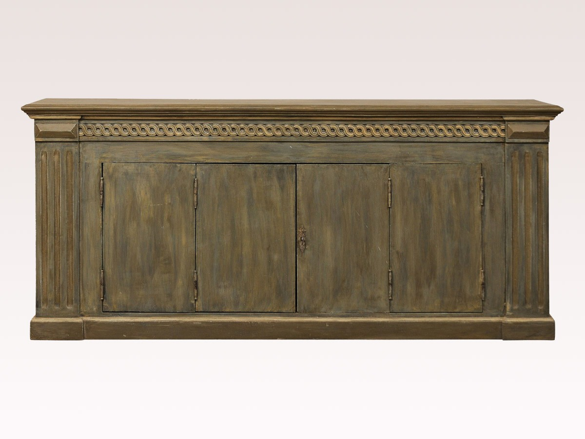 Painted Wood Enfilade / Buffet