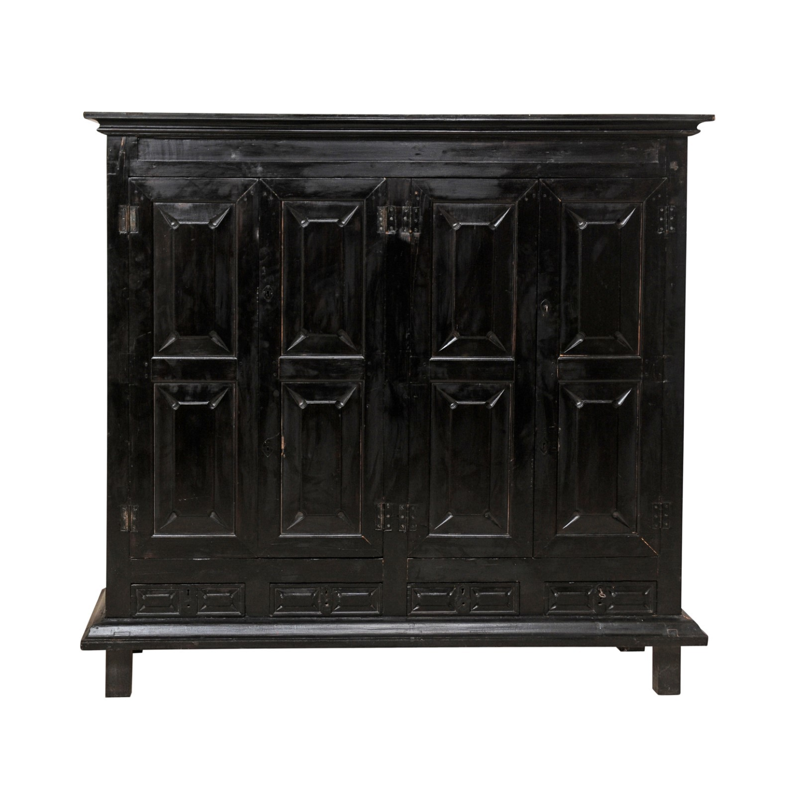 British Colonial Cabinet, 6.5 ft Tall