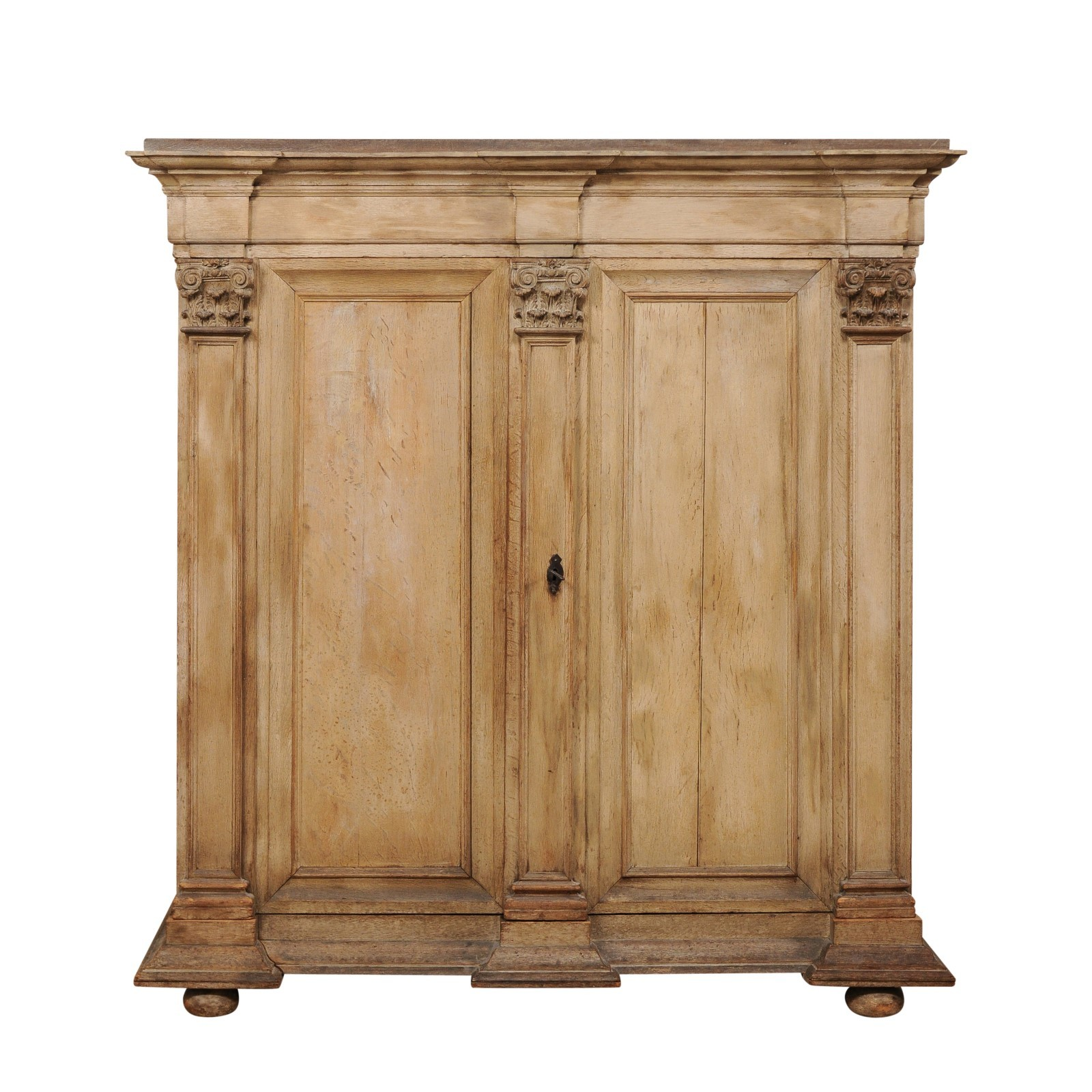 "18th C. Period Baroque ""Kas"" Cabinet"
