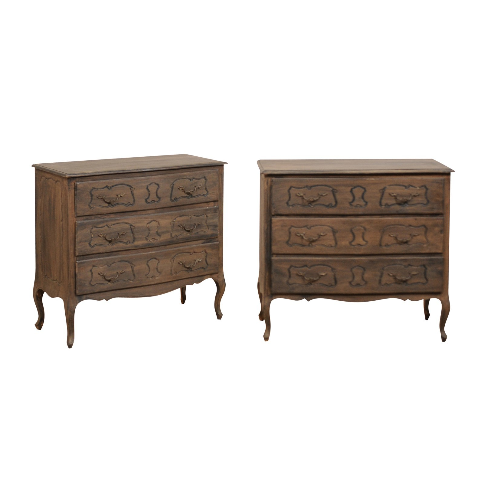 Pair Chest of Drawers, Mid 20th Century