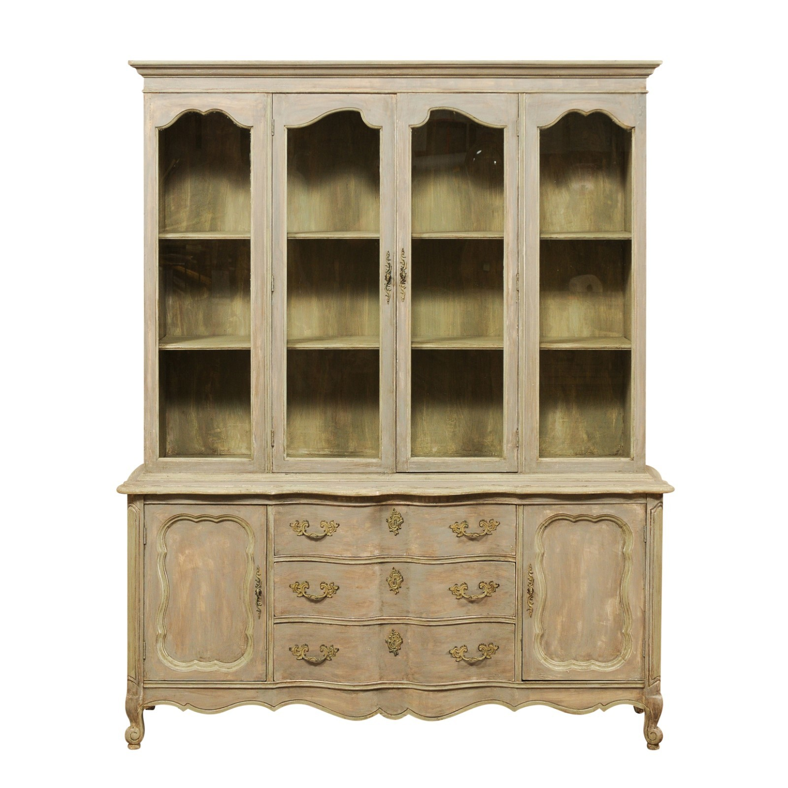 French Style Display & Storage Cabinet