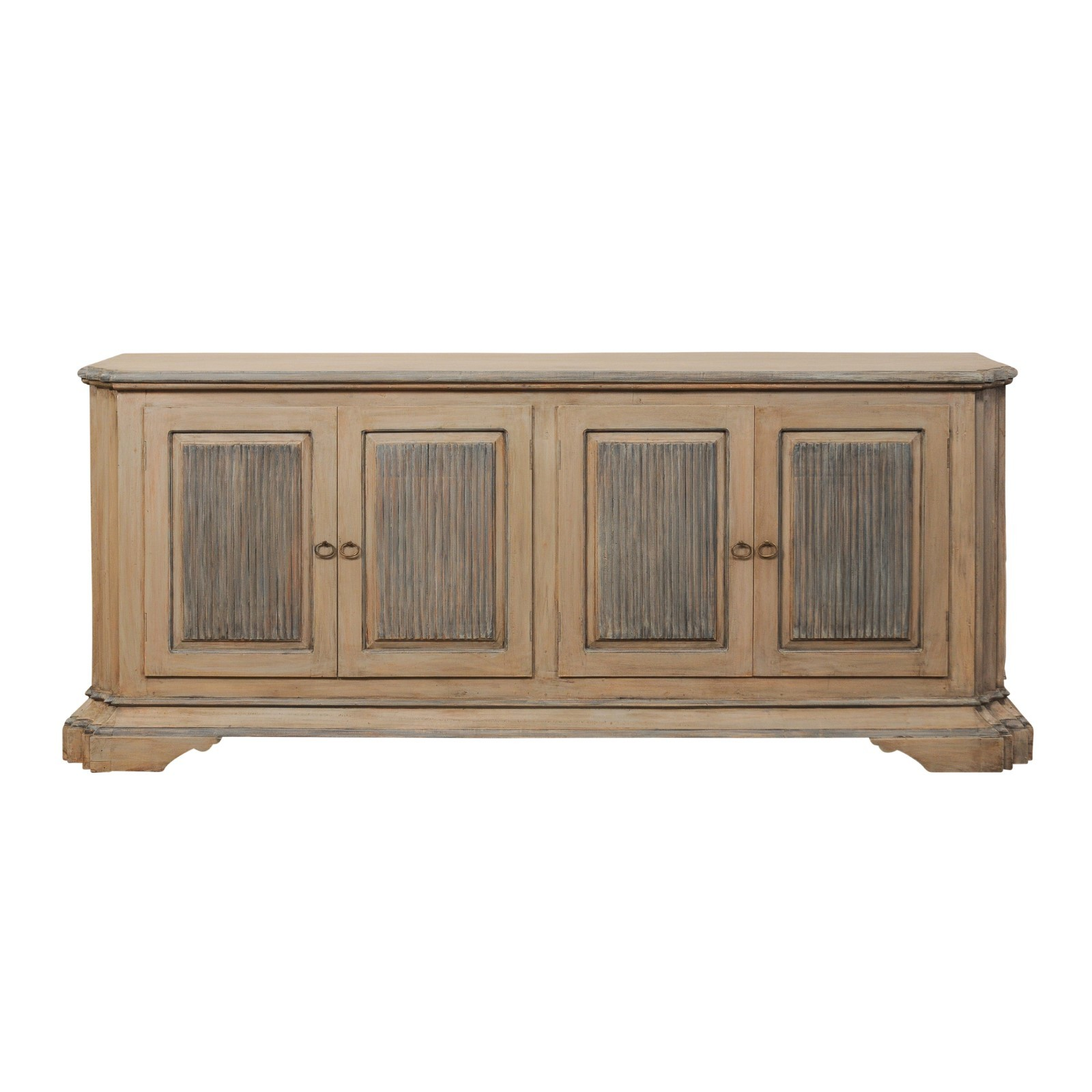 Long Italian Style Buffet Cabinet, 8+ft