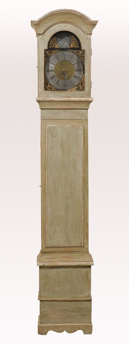 Swedish Rectangular-Body Clock, 19th C.