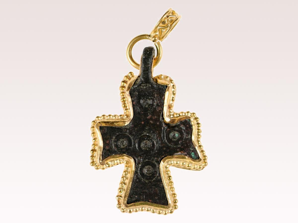 Byzantine Era Cross Pendant | 0059 | A  Tyner Antiques