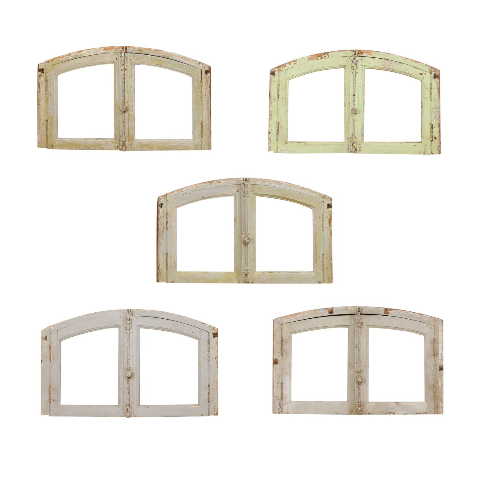 Various French Arched Window Transoms