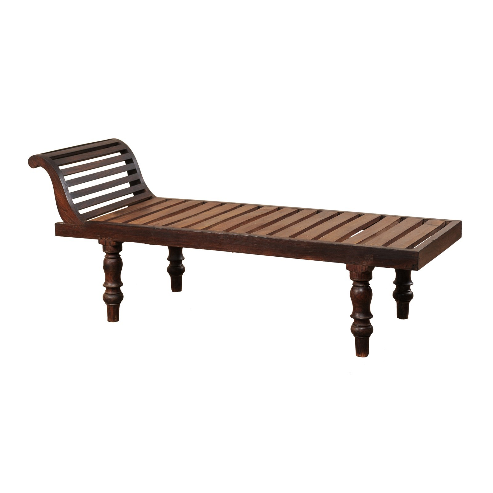 British Colonial Chaise Lounge Chair