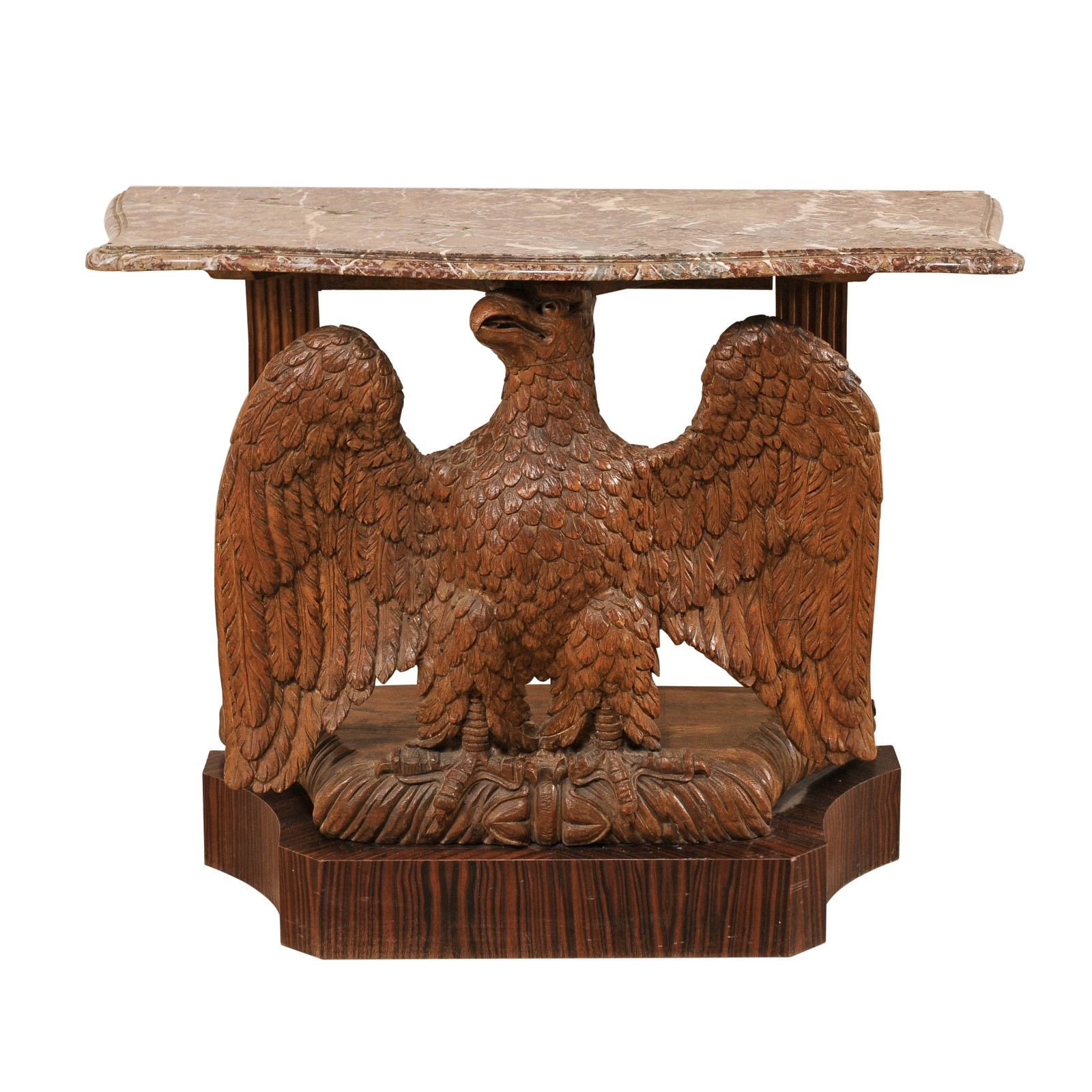A Carved Eagle Console Table, c. 1820