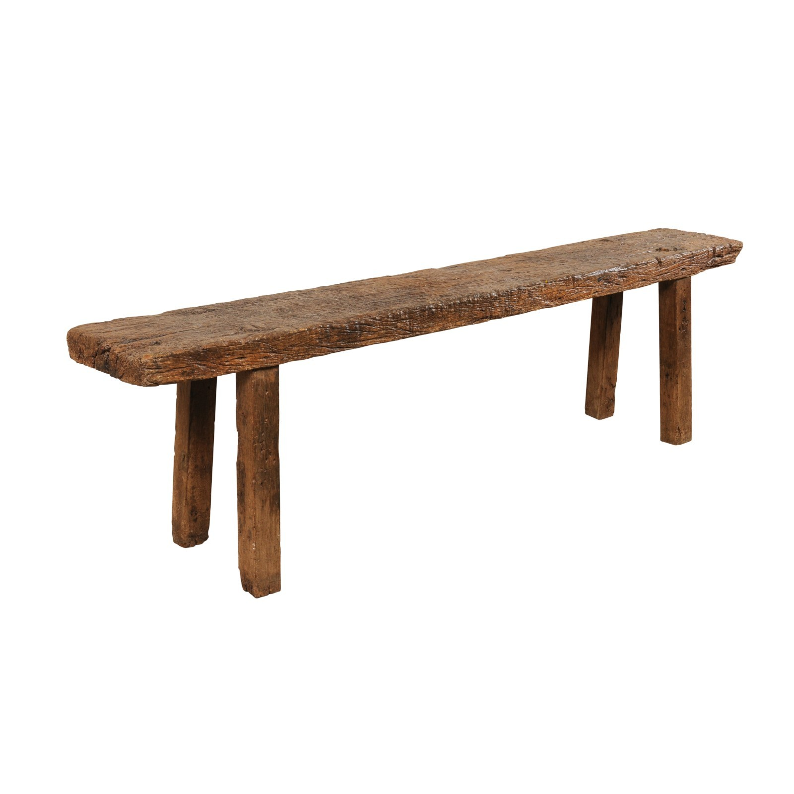 Antique Brazilian Bench-Style Table