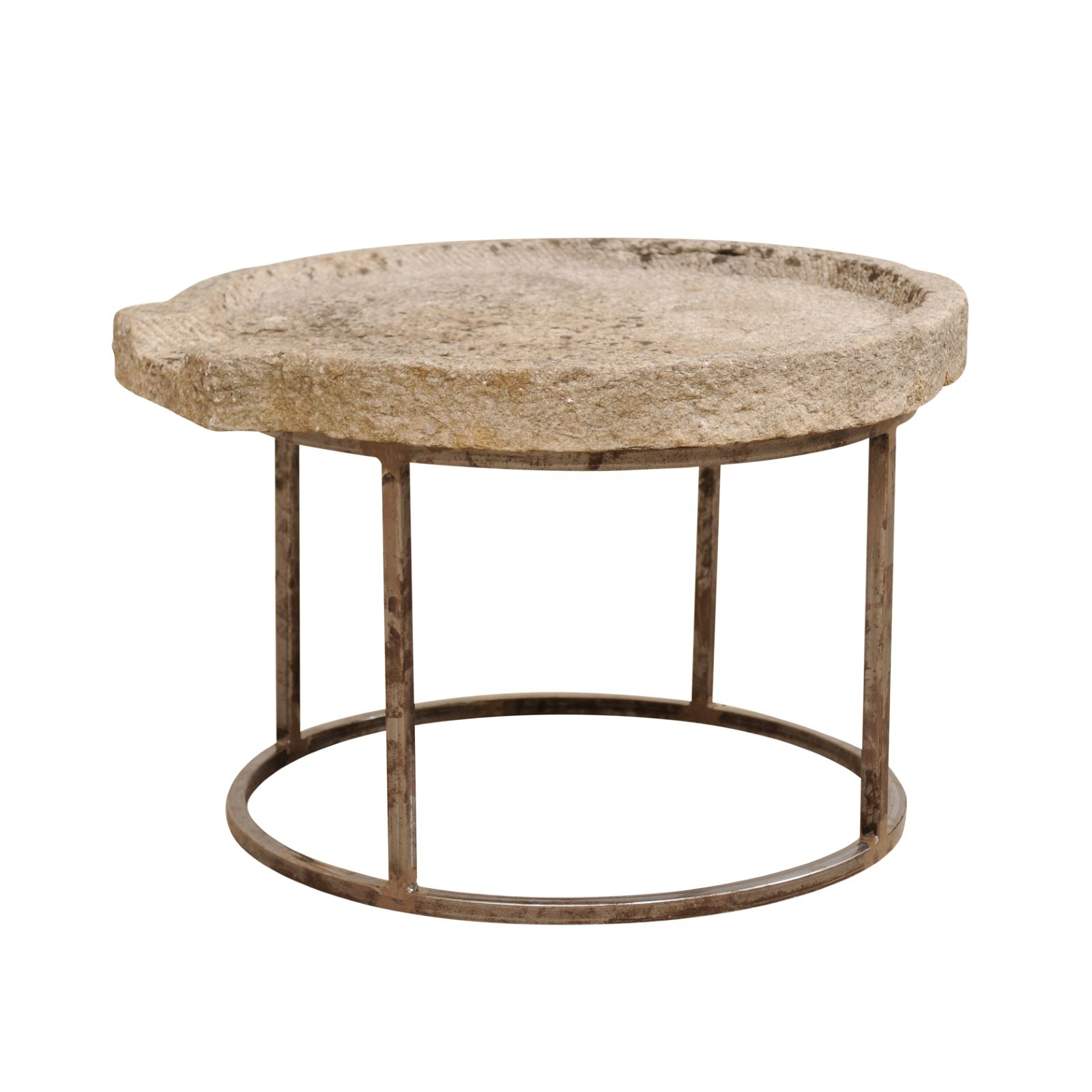 Antique Stone Olive Oil Trough Table