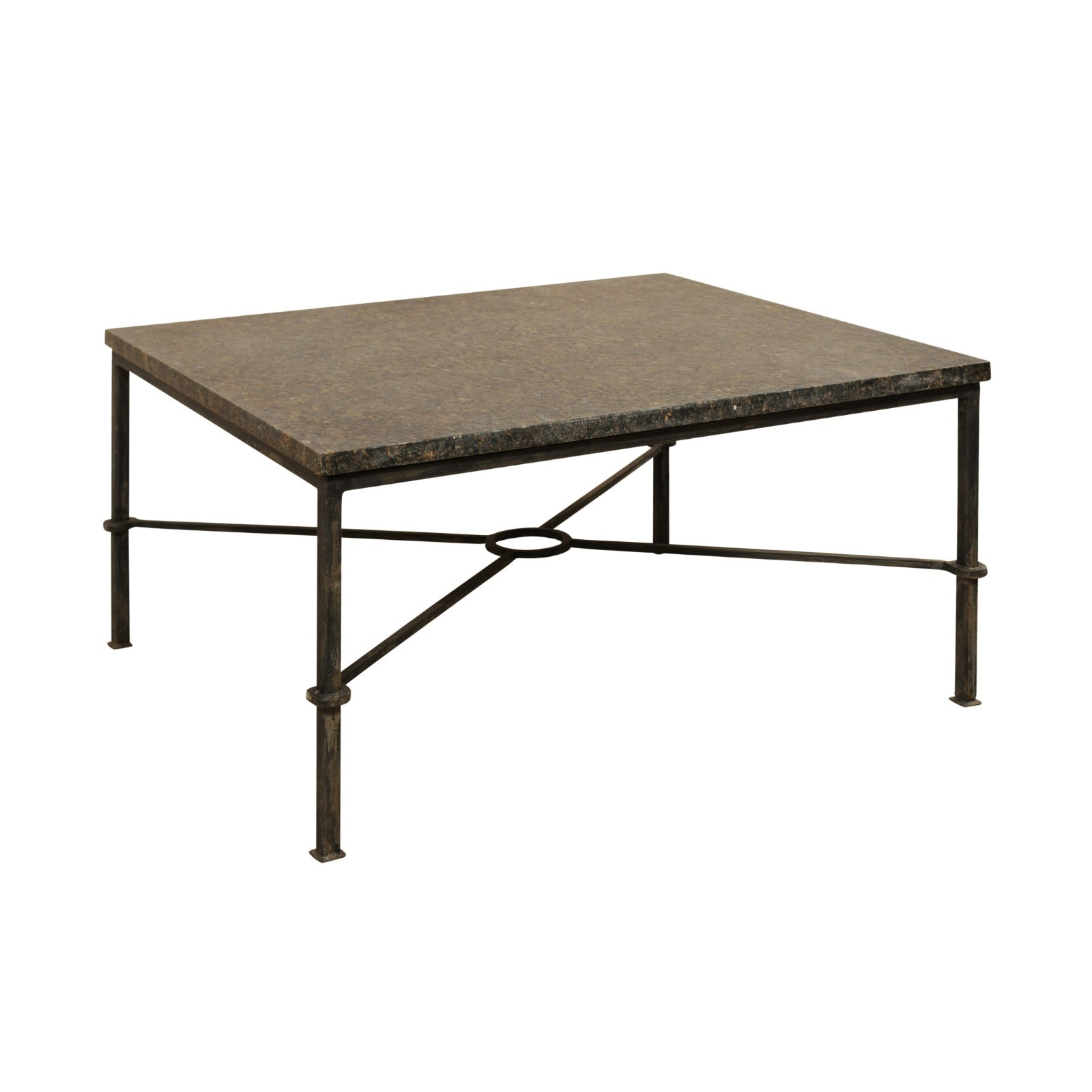Honed Stone top Coffee Table