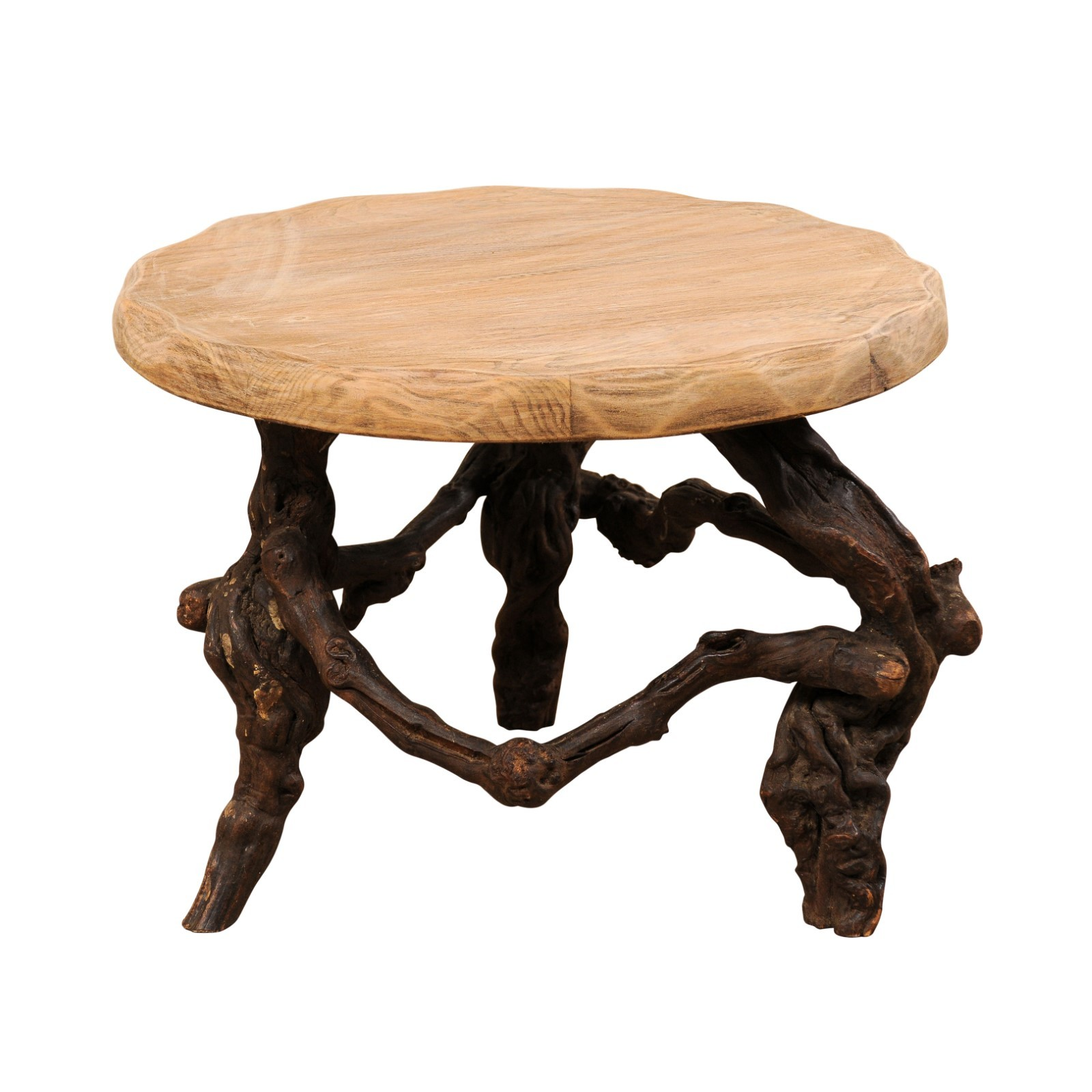 Petite French Grapevine Coffee Table