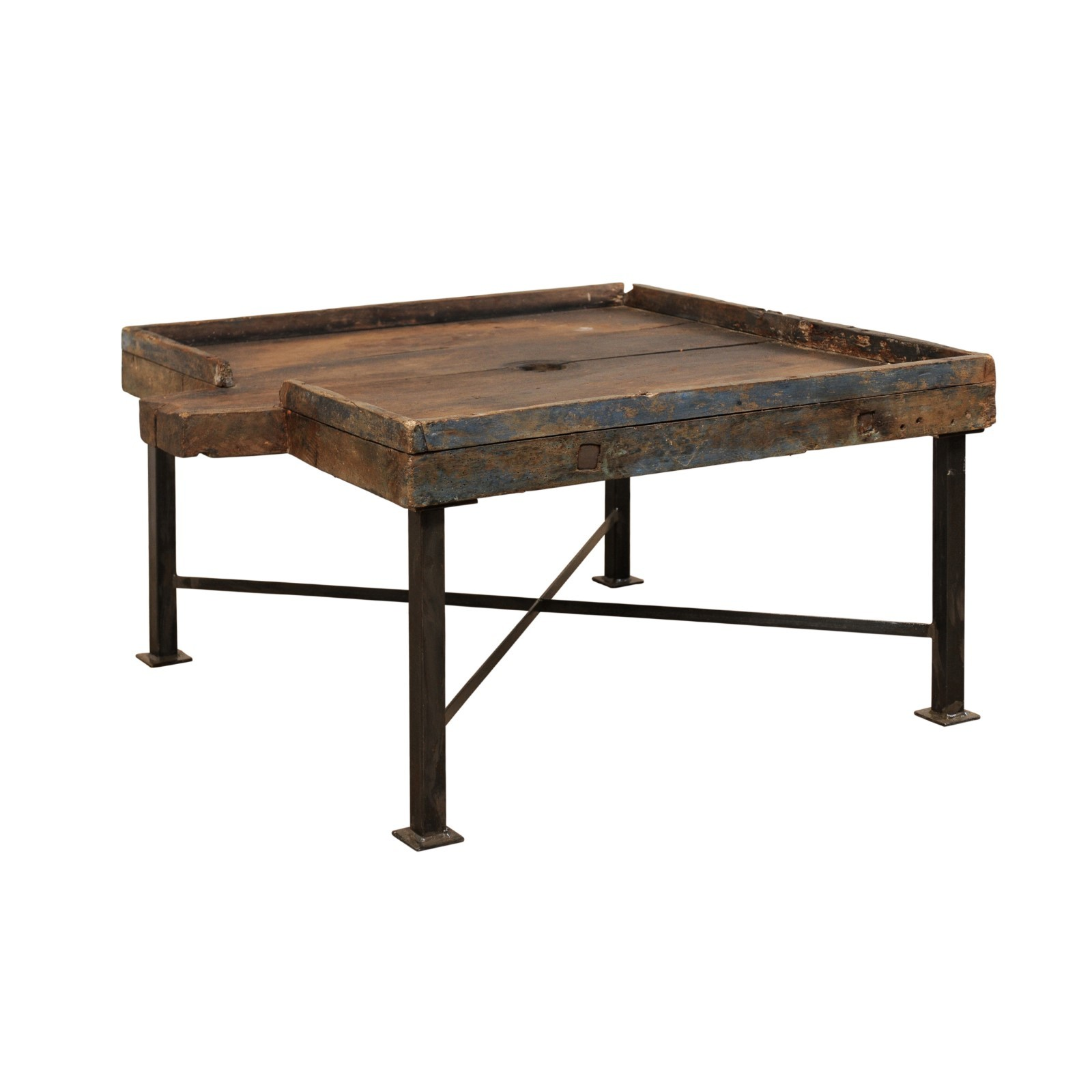 Spanish Olive Trough Coffee Table