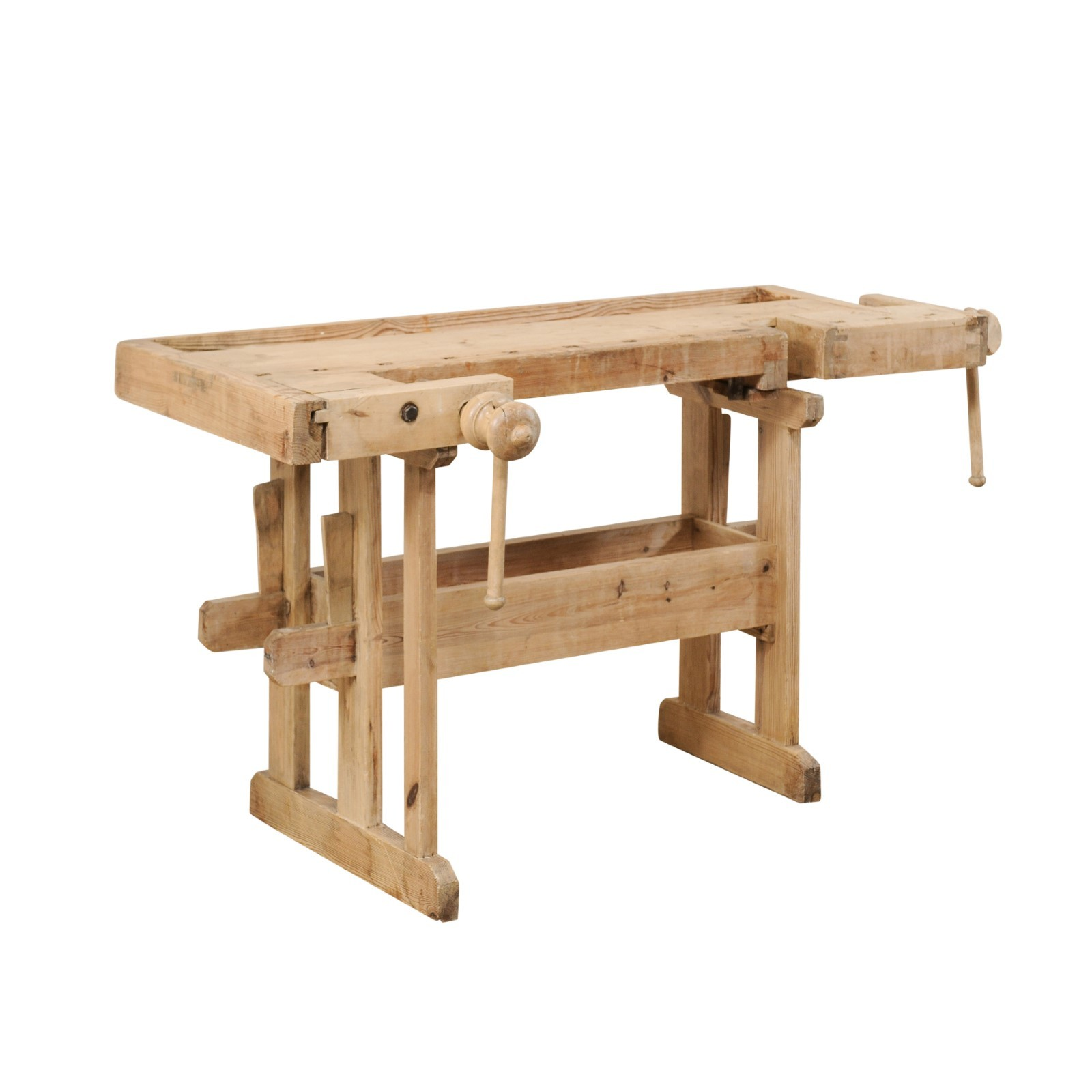 Swedish Work-bench Table w/Shallow Profile
