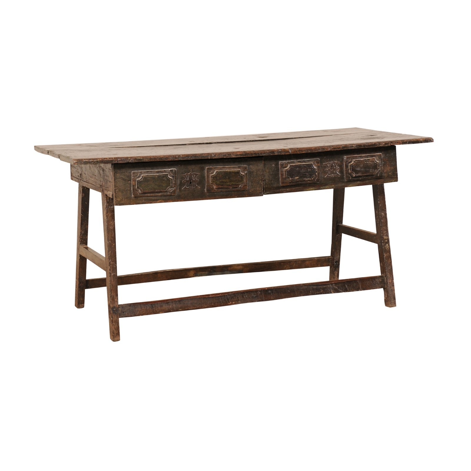 Late 17th C. Brazilian Peroba Wood Table