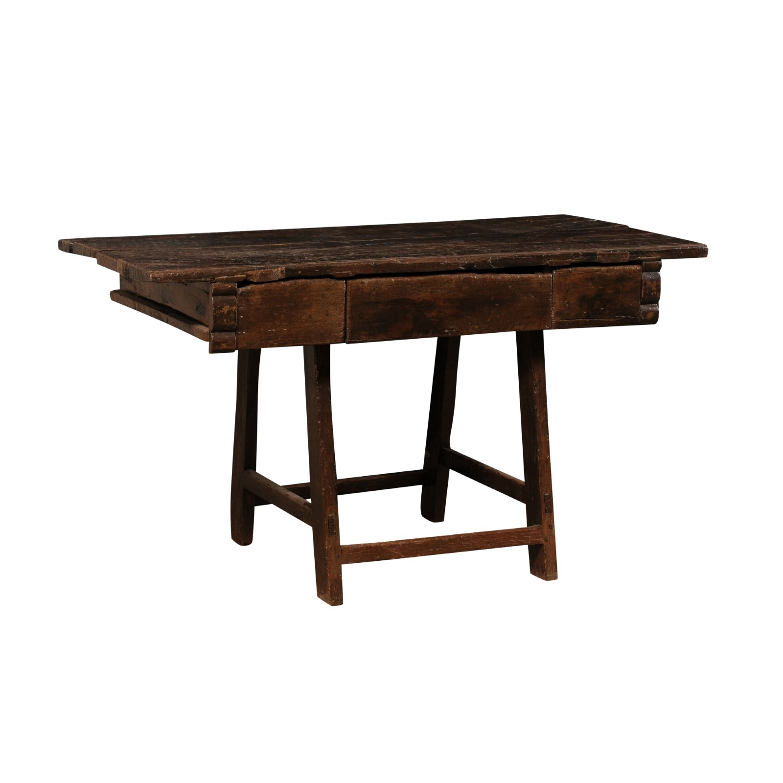 18th C. Brazilian Peroba Wood Table