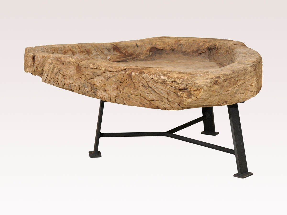 A Guatemalan Wood Coffee Table