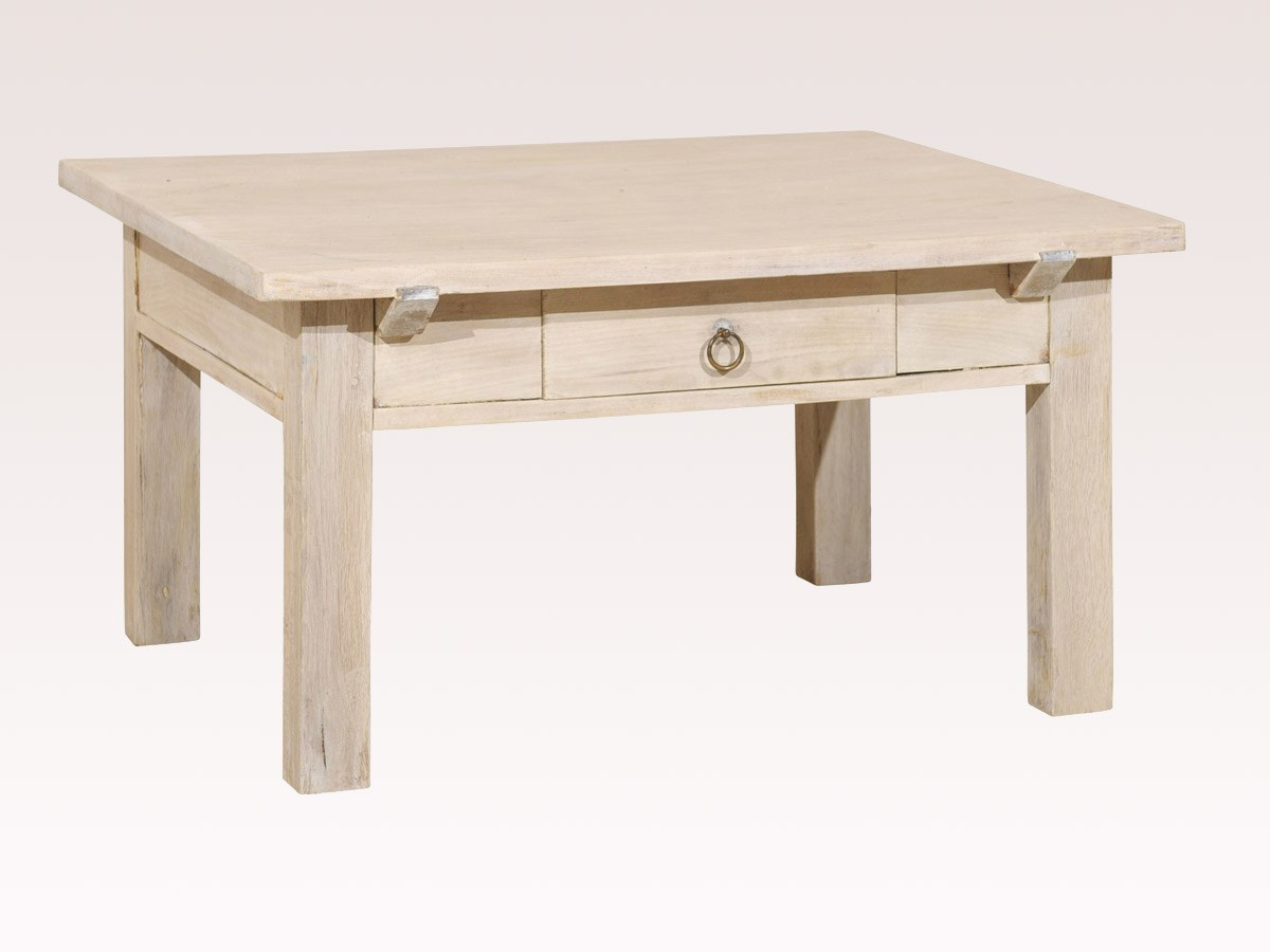 Belgian Cream Color Coffee Table