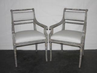 Sheraton Style Armchairs
