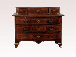 Swedish Baroque 3-Drawer Chest
