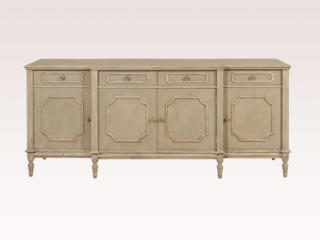A Painted Wood Sideboard