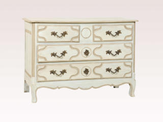 A French Painted Chest of Drawers