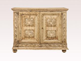 Italian 18th C. Carved Buffet