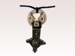 Antique Conus Shell Necklace