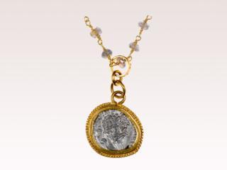 A Roman Silver Coin Pendant