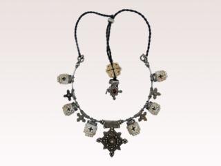 Silver & Conus Shell Necklace