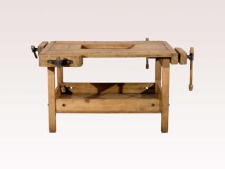 Unusual European 19th C Workbench