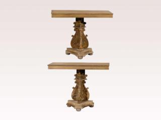 Italian 19th C. Console Tables