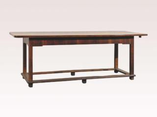 Italian Walnut Library Table