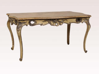 Italian Rococo Style Table / Desk