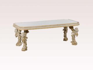 Italian Mirrored Coffee Table