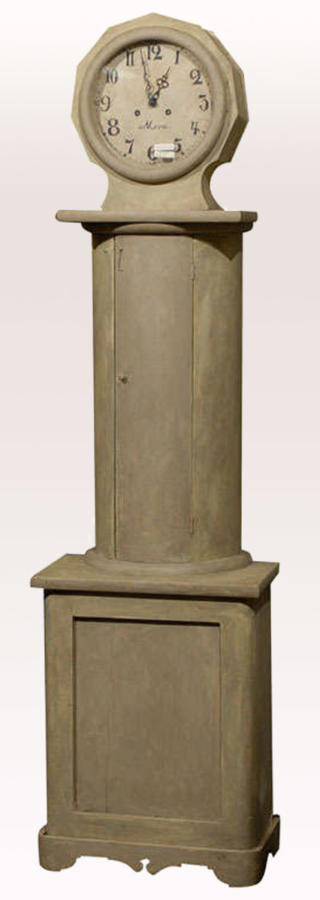 Swedish Column Shaped Clock