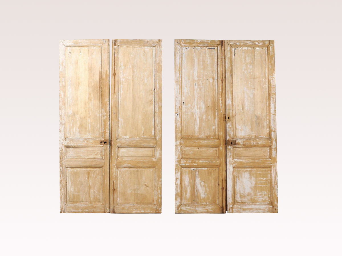 Two Pairs of 19th C. French Doors