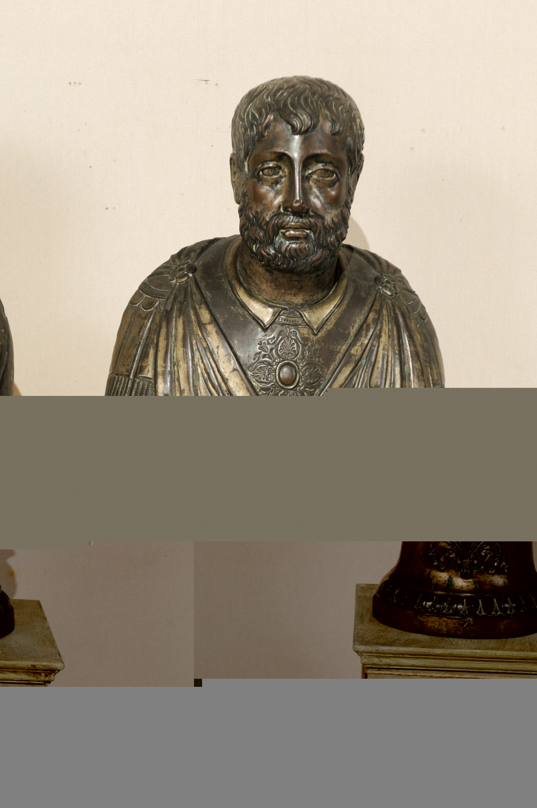 Pair of Italian Busts, Circa 1820 : 1398 : A. Tyner Antiques