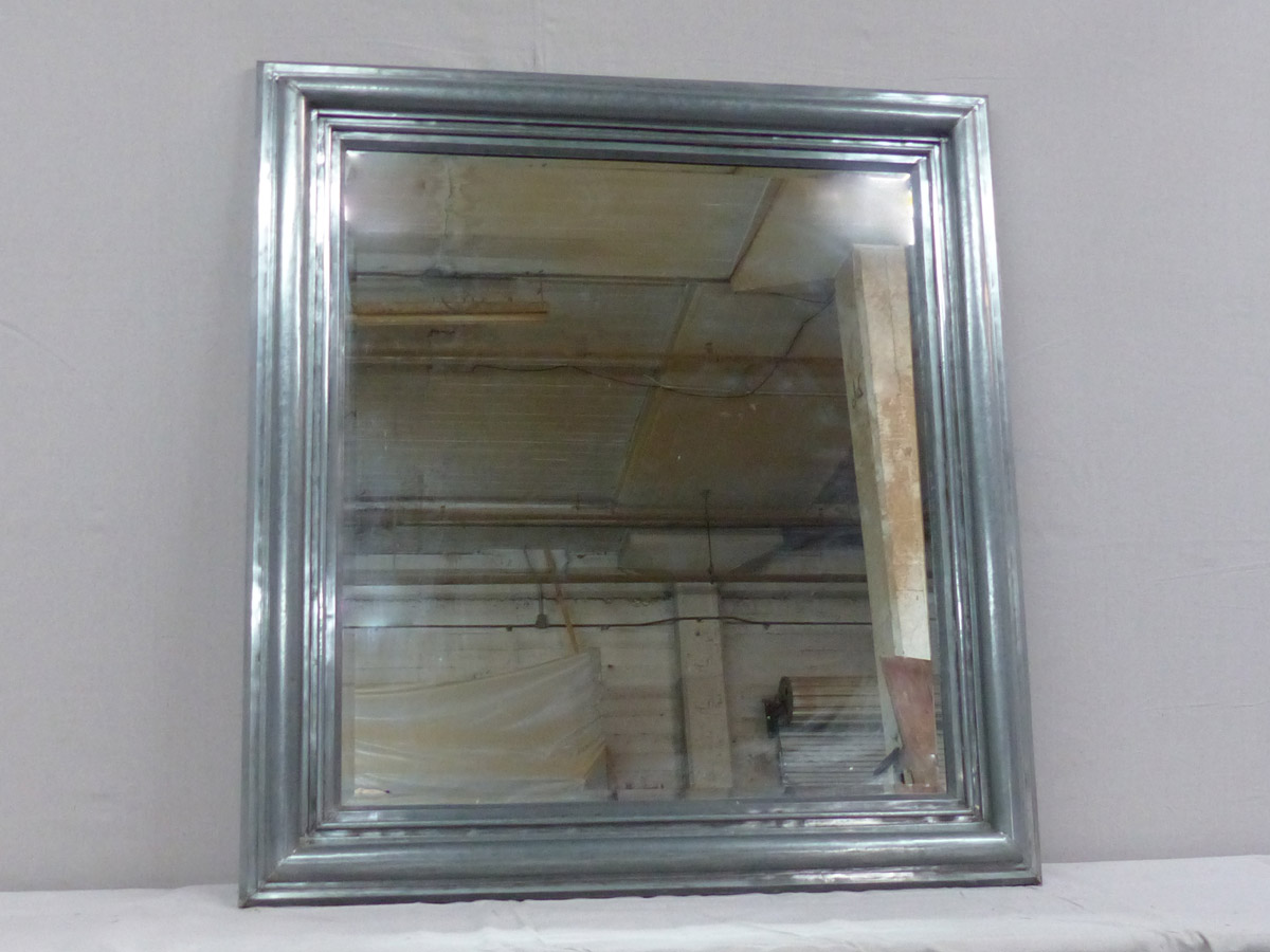 Rectangular Mirror w/Zinc Surround, 4+ FT