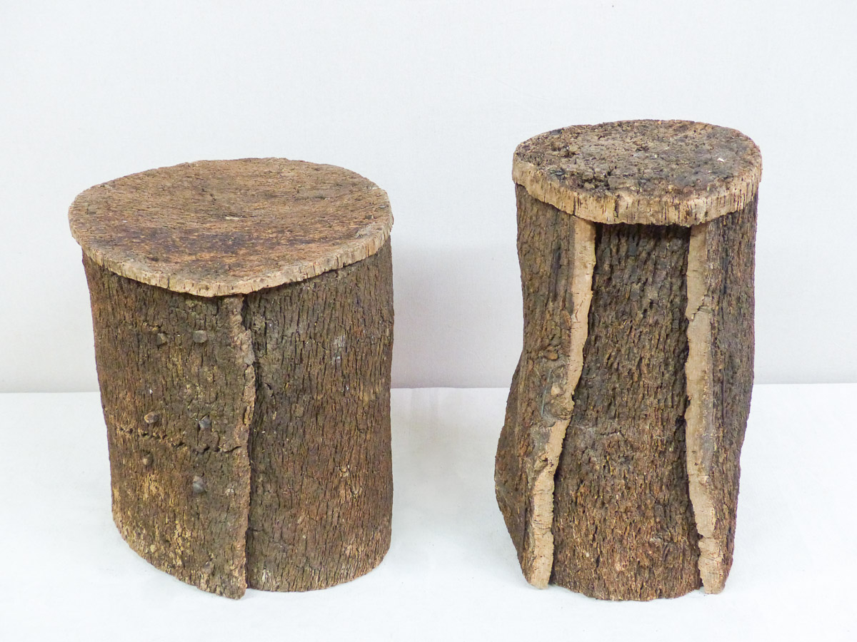 Cork Beehive End Tables