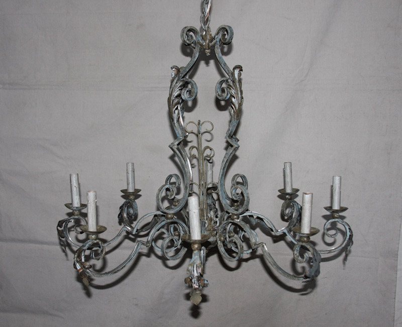 An Ornately Decorated Chandelier