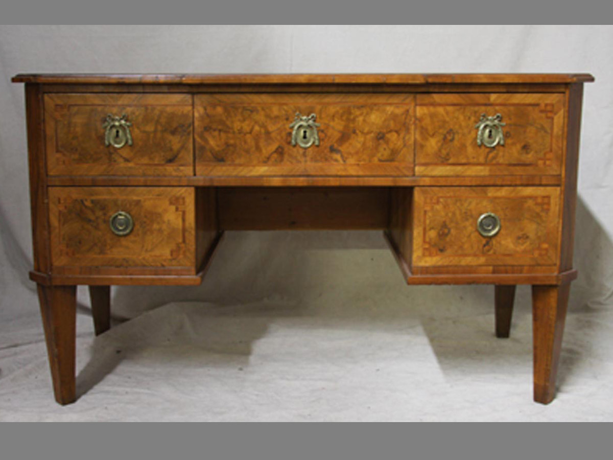 A Biedermeier Desk, 19th C. Sweden